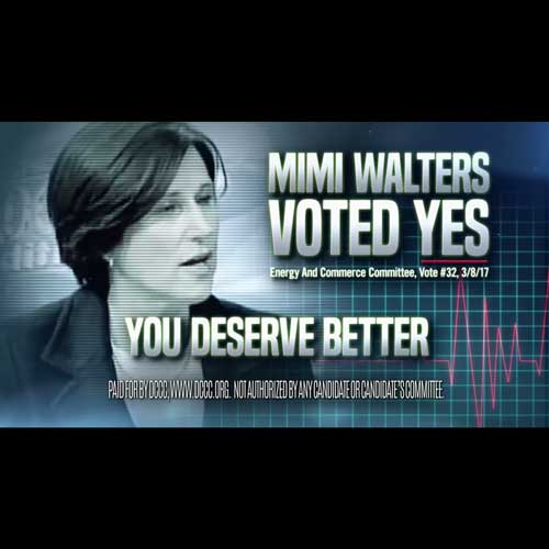 LA Times: Democrats out with ads targeting Rep. Mimi Walters